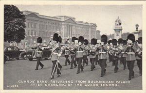 England London Guard's Band Returning From Buckingham Palace