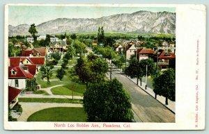 Pasadena California~North Los Robles Avenue~Neighborhood Homes~1906 M Rieder