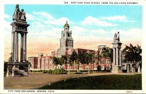 Colorado Denver City Park Esplanade East Side High School From The Sullivan G...