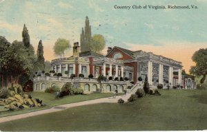 RICHMOND, Virginia, PU-1912 ; Country Club of Virginia