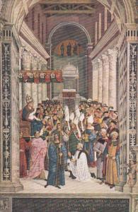 SIENA, Toscana, Italy, 1900-1910's; Libreria Del Duomo, Enea Piccolomini E Cr...