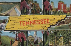 TENNESSEE , 1930-40s ; Map