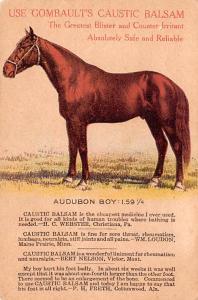 Medicine Advertising Old Vintage Antique Post Card Combault's Caustic Ba...