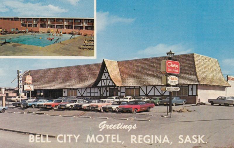 REGINA , Saskatchewan , Canada , 50-60s ; Bell City Motel