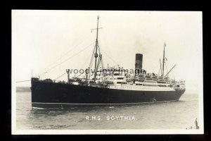 bf915 - Cunard Liner - Scythia - postcard by B Feilden