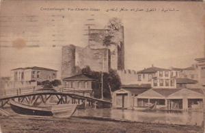 Turkey Constantinople Vue d'Anatol-Hissar 1924