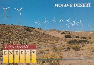 California Mojave Desert Windmill Energy