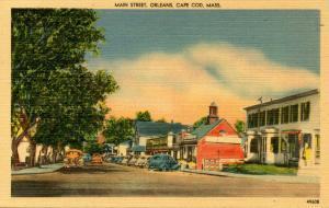 MA - Orleans, Cape Cod. Main Street