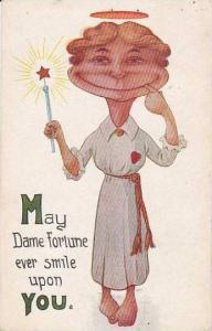 Fred Cavally  Glad Mitt Series   Fortune Ever Smile 1913