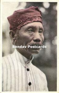 indonesia, BATOE BATU Islands, Native Male from Nias (1930s) Mission