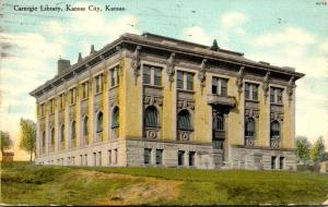 Carnegie Library Kansas City Kansas 1910 Curteich