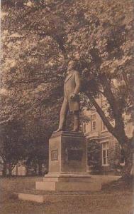 North Carolina Greensboro Statue Of Dr Charies Duncan Mclver Womans College U...