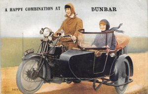 Lot 53 a happy combination at dunbar south africa motorcycle couple leporello