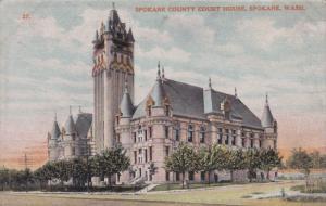 Spokane County Court House, Spokane, Washington, 1912 PU