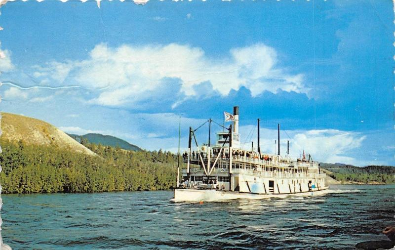 BC59930 bateaux ships on the Yukon River Prince Philip