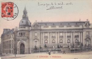 LIMOGES , haute-Vienne , France , PU-1908 ; Prefecture