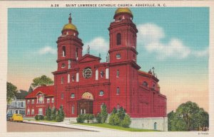 ASHEVILLE , NC, 1930-40s; Saint Lawrence Catholic Church