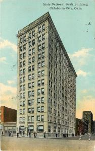 Oklahoma City~State National Bank Building~Whole Block~Ladies Cross Street~1911