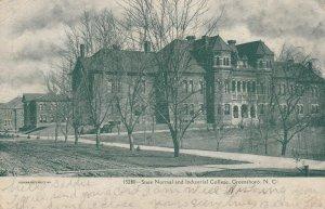 GREENSBORO , North Carolina , 1909 ; State Normal & Industrial College