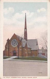Maine Bangor All Souls Congregational Church