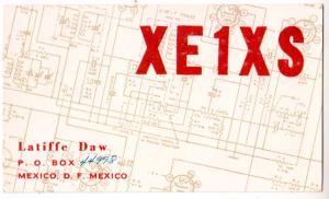 XE1XS, Mexico, 1965