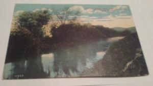 POSTCARD,NORTH ADAMS,MASS HOOSAC RIVER 1912  $12 OR BEST OFF