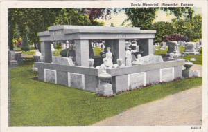 Kansas Hiawatha Davis Memorial Curteich