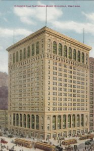 CHICAGO , Illinois, 1900-10s ; Commercial National Bank Building