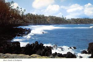 Black Sands - Kalapana, Hawaii