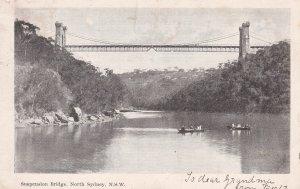 NORTH SYDNEY , Australia , PU-1926 ; Suspension Bridge