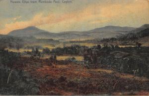 Ceylon Nuwara Eliya from Ramboda Pass Landscape Postcard