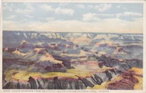 Fred Harvey Arizona Grand Canyon Cloud Shadows From Hopi Point Detroit Publis...