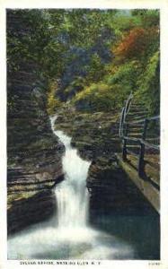 Sylvan Rapids Watkins Glen NY 1928
