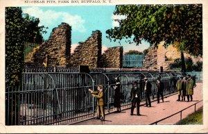 New York Buffalo Park Zoo Bear Pits