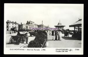 pp2326 - Sussex - Marine Parade in the Early 1900s, Worthing - Pamlin postcard