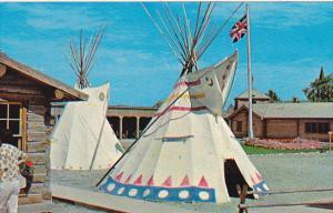 Canada TIndian Teepees Fort MacLeod Alberta