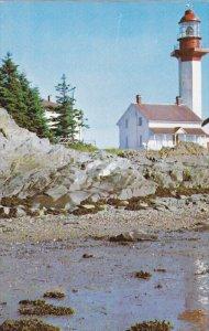 LIGHTHOUSE , Metis Beach , Quebec , Canada , 1966