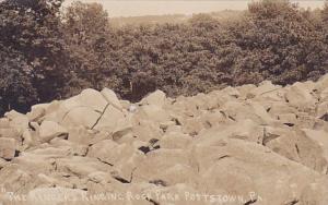 The Ringer Ringing Rock Park Pottstown Pennsylvania Real Photo