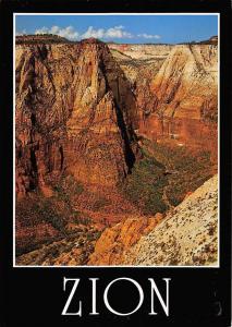 USA Navajo Sandstone Cliffs of Zion National Park, Uthak