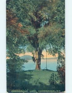 Divided-Back LAKE SCENE Finger Lakes - Canandaigua - Near Rochester NY hp6810