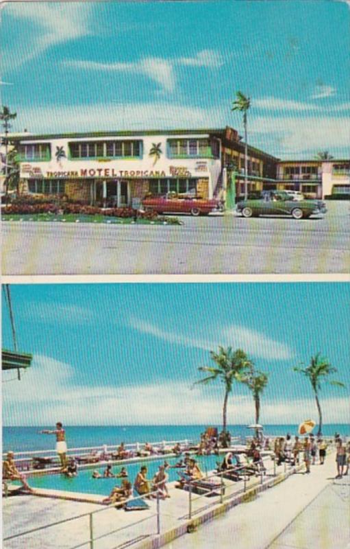 Florida Miami The Tropicana Motel 1956