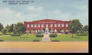 Maryland Frederick Ebert Ice Cream Company