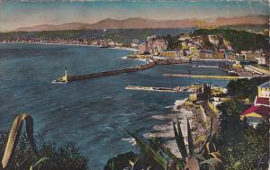 France Nice Vue generale prise du Mont Boron 1950