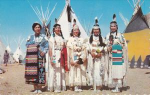 5 North American Indian Maidens , 50-60s