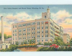 Linen HOSPITAL SCENE Wheeling West Virginia WV hs0360