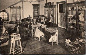 Vtg Childrens Attic New Hampshire Room Memorial Continental Hall DAR Postcard