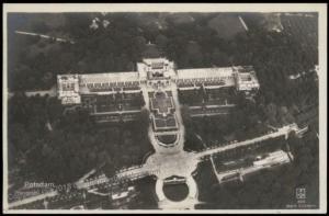 Germany Empire Potsdam Orangerie Early Flight Aerial View Fliegeraufnahme  67837