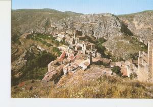 Postal 028087 : Albarracin (Teruel), Ciudad Historica y Monumental. Vista aer...