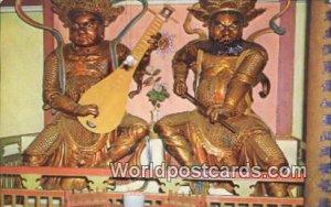Chinese Temple Idols Penang Malaya, Malaysia Unused