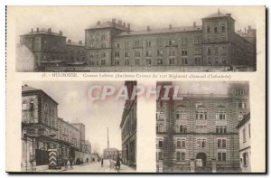Old Postcard Lefevre MULHOUSE Barracks Old Barracks 112th Infantry Regiment G...